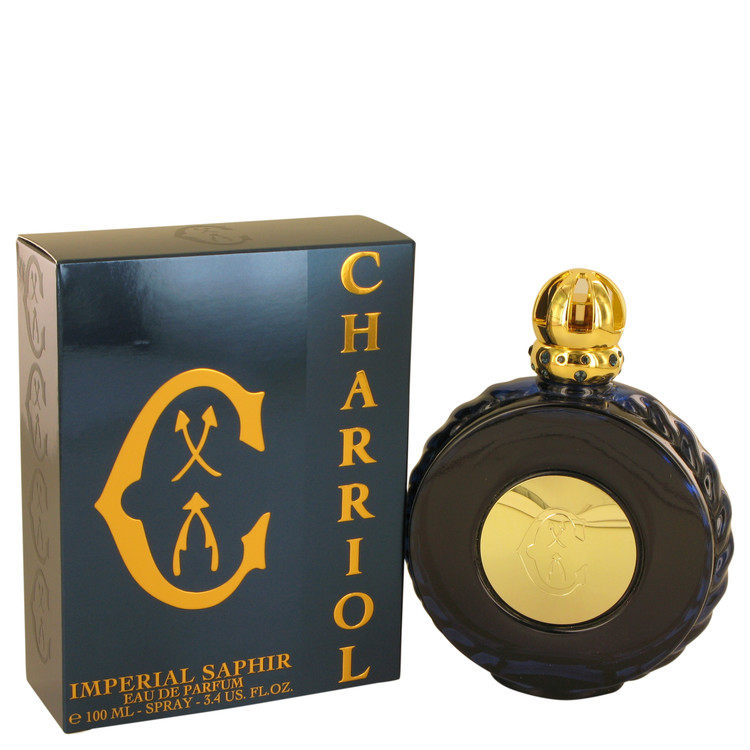 Imperial Saphir by Charriol for Men Eau De Parfum Spray 3.4 oz