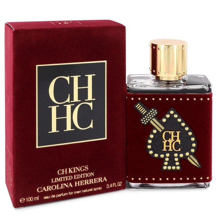Ch Kings by Carolina Herrera Men's Eau De Parfum Spray (Limited Edition Bottle)
