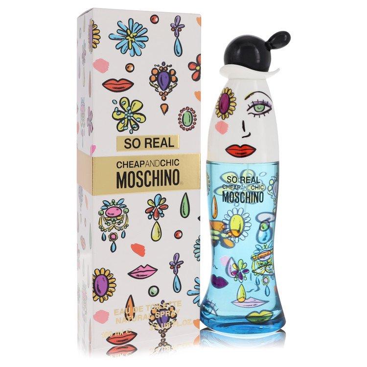 Cheap & Chic So Real by Moschino –  Eau De Toilette Spray 3.4 oz 100 ml for Women