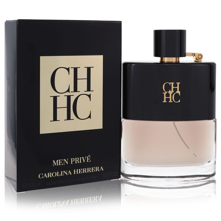 Ch Prive Cologne by Carolina Herrera 3.4 oz EDT Spay for Men
