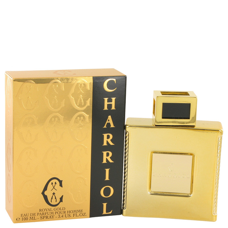 Charriol Royal Gold by Charriol for Men Eau De Parfum Spray 3.4 oz
