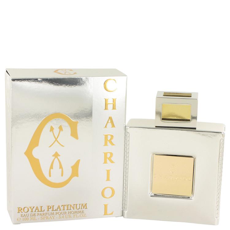 Charriol Royal Platinum by Charriol for Men Eau De Parfum Spray 3.4 oz