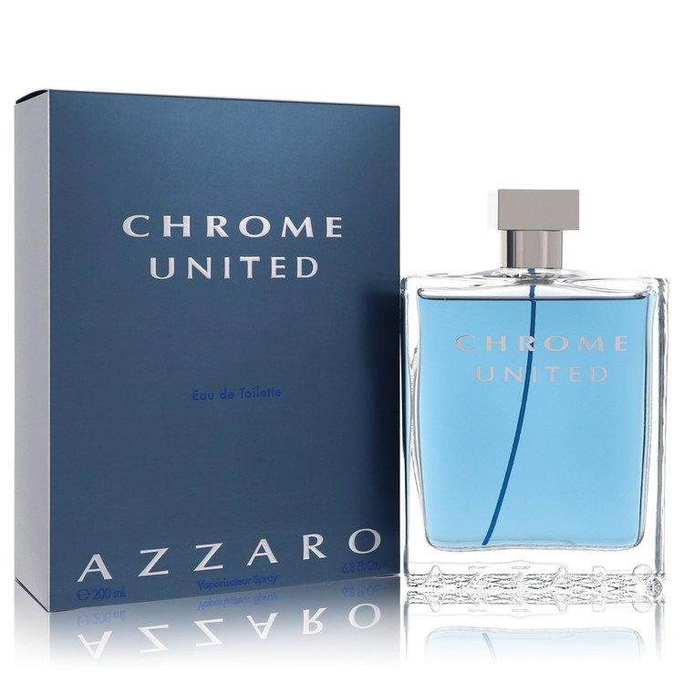 Chrome United Cologne by Azzaro 6.8 oz EDT Spray for Men