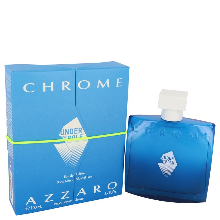 Chrome Under The Pole Cologne by Azzaro 3.4 oz EDT Spay for Men