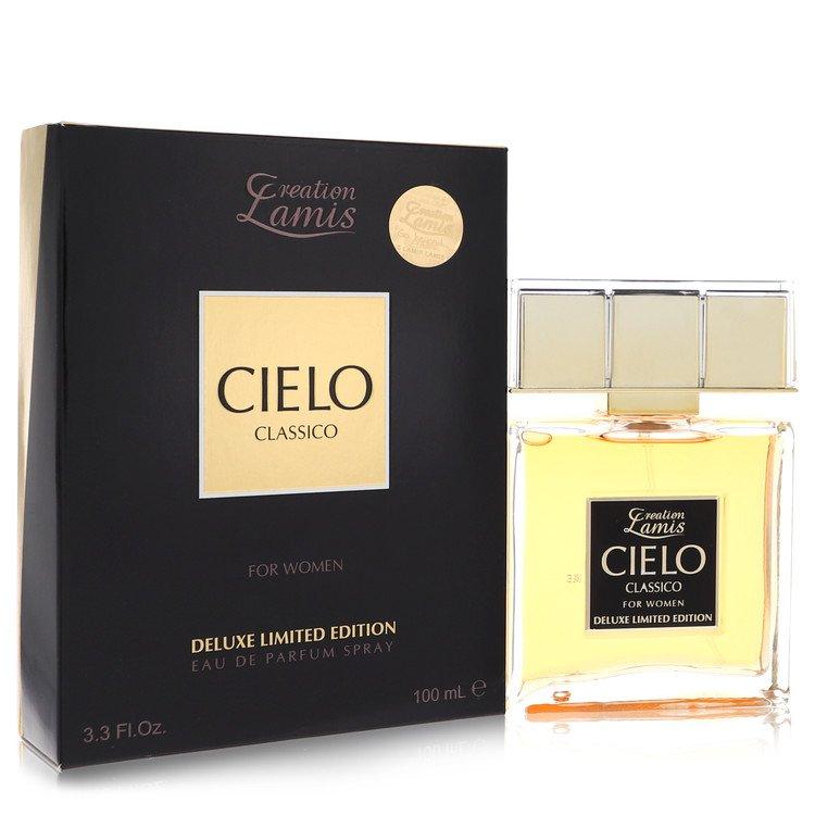 Cielo Classico by Lamis for Women Eau De Parfum Spray Deluxe Limited Edition 3.3 oz