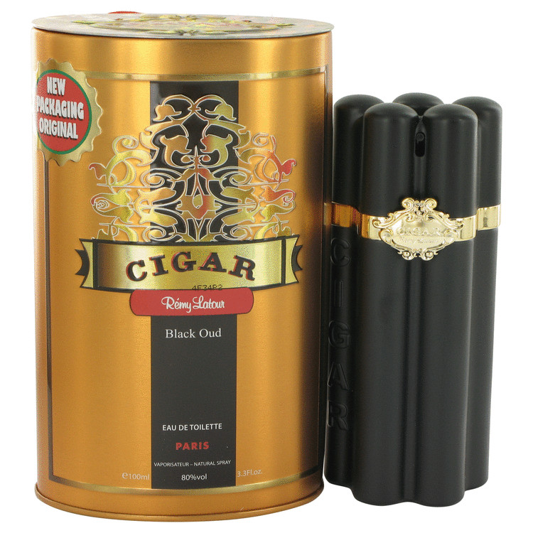 Cigar Black Oud by Remy Latour Eau De Toilette Spray 3.3 oz