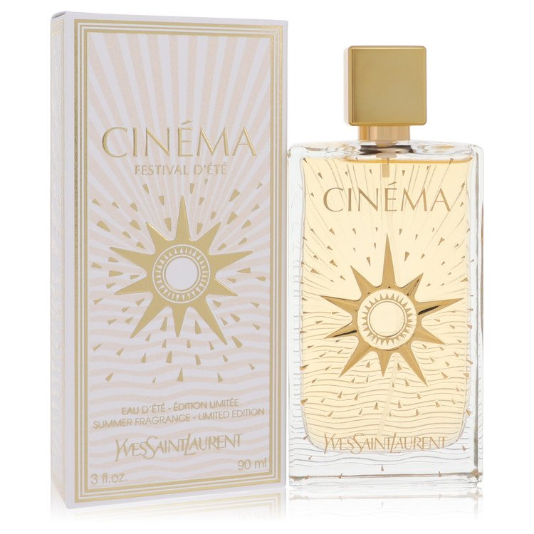 Cinema by Yves Saint Laurent –  Summer Fragrance Eau D'Ete Spray 3 oz 90 ml for Women