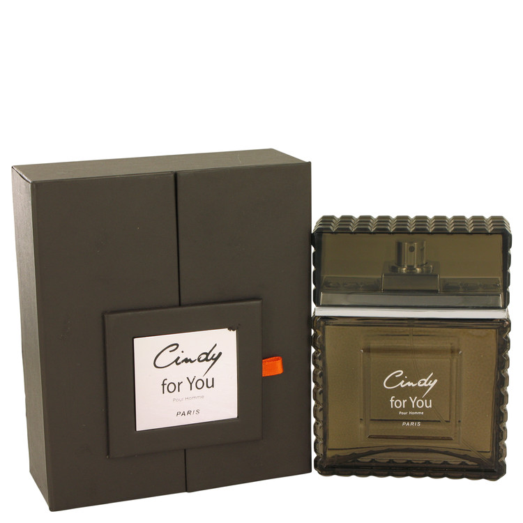 Cindy For You by Cindy C. for Men Eau De Parfum Spray 3 oz