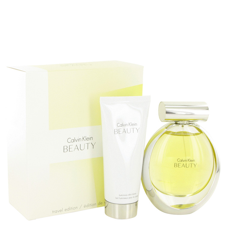 Beauty for Women, Gift Set (3.4 oz EDP Spray + 3.4 oz Body Lotion)