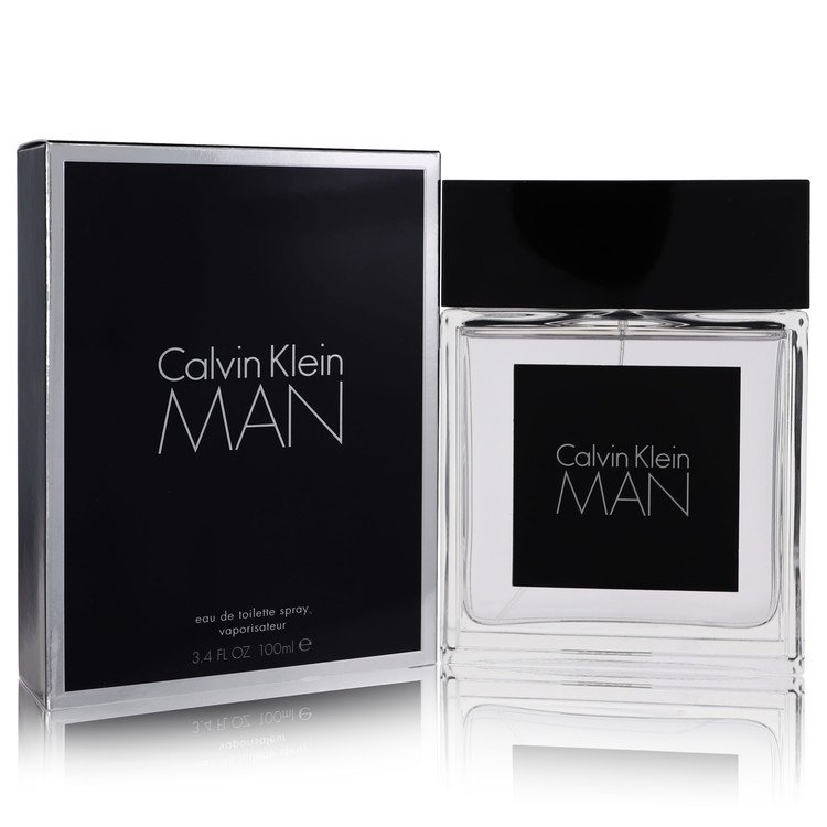 Calvin Klein Man by Calvin Klein Eau De Toilette Spray 3.4 oz