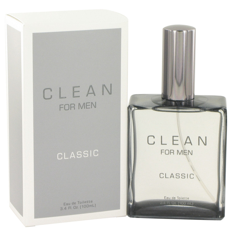 Clean Men by Clean for Men Eau De Toilette Spray 3.4 oz