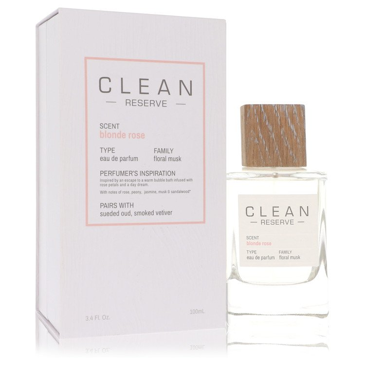 Clean Blonde Rose Perfume by Clean 3.4 oz EDP Spay for Women