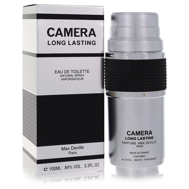 Camera Long Lasting Cologne by Max Deville 3.4 oz EDT Spay for Men