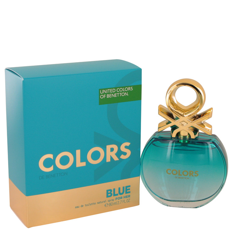 Colors Blue Perfume by Benetton 2.7 oz EDT Spray for Women