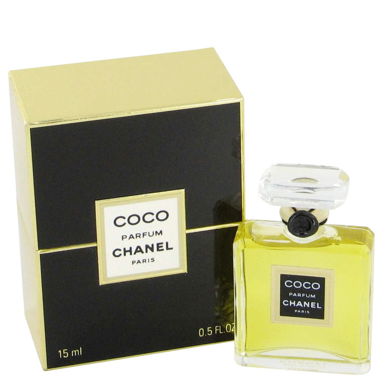 Coco Pure Perfume by Chanel 1/2 oz Pure Perfume for Women