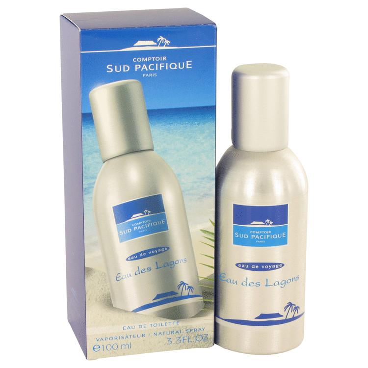 Comptoir Sud Pacifique Eau Des Lagons Perfume 3.3 oz EDT Spay for Women