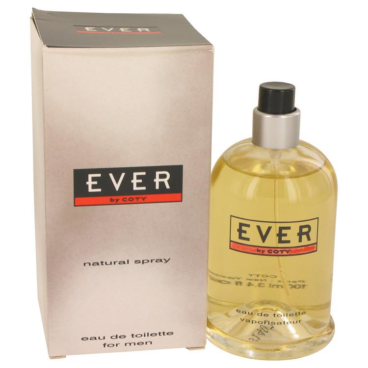 Coty Ever by Coty for Men Eau De Toilette Spray (Slightly Damaged Box) 3.4 oz