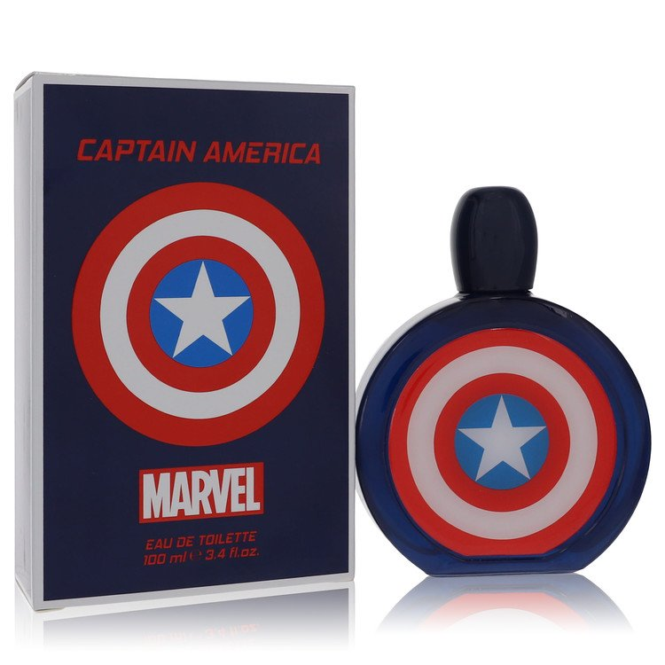Captain America by Marvel for Men Eau De Toilette Spray 3.4 oz