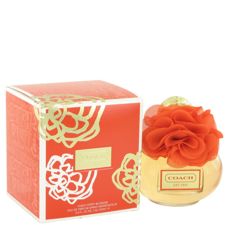 Coach Poppy Blossom Perfume by Coach 3.4 oz EDP Spay for Women