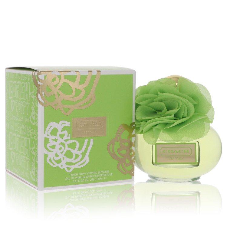 Coach Poppy Citrine Blossom Perfume by Coach 3.4 oz EDP Spay for Women