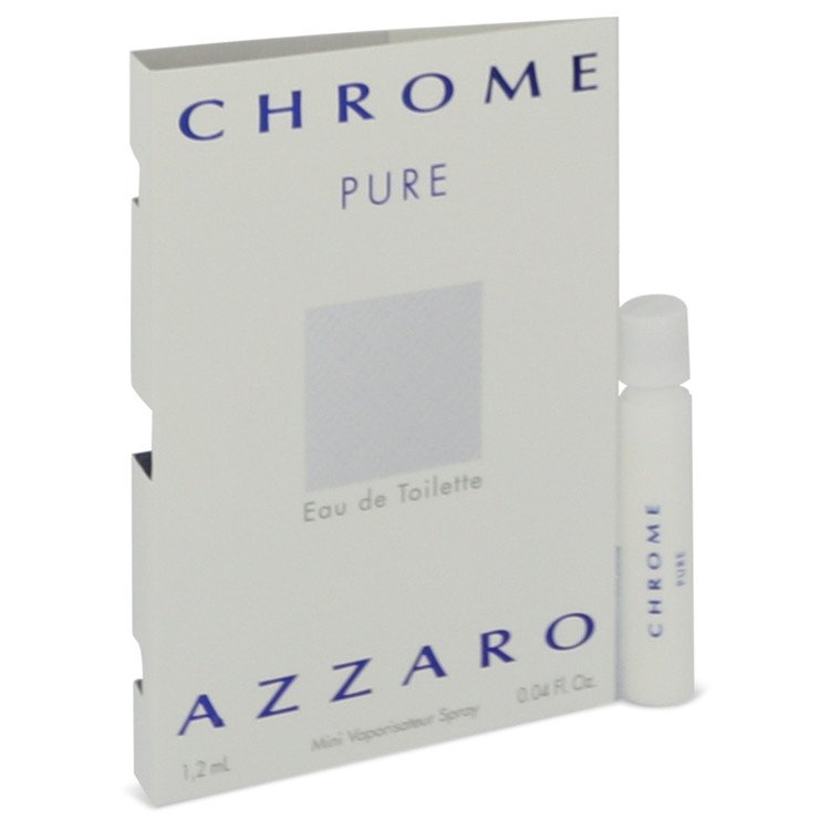 Chrome Pure by Azzaro Men's Vial (Sample) .05 oz