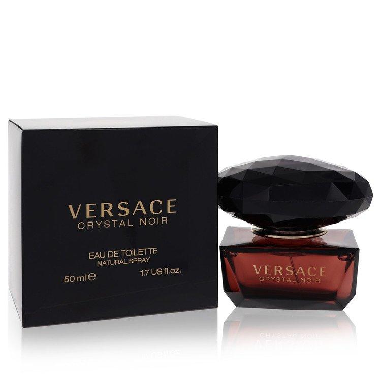 Crystal Noir by Versace for Women Eau De Toilette Spray 1.7 oz
