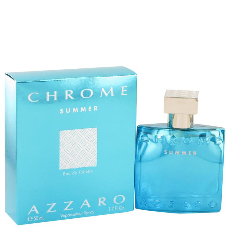 Chrome Summer Cologne by Azzaro 1.7 oz EDT Spray for Men