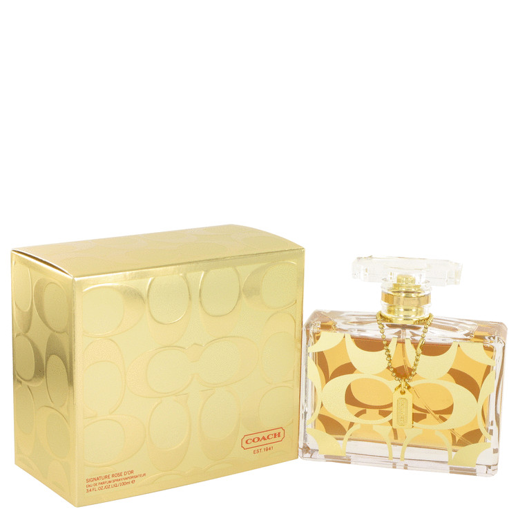 Coach Signature Rose D'or Perfume by Coach 3.4 oz EDP Spay for Women
