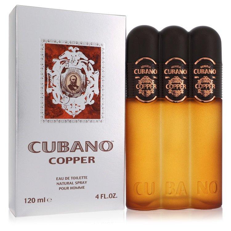 Cubano Copper by Cubano for Men Eau De Toilette Spray 4 oz