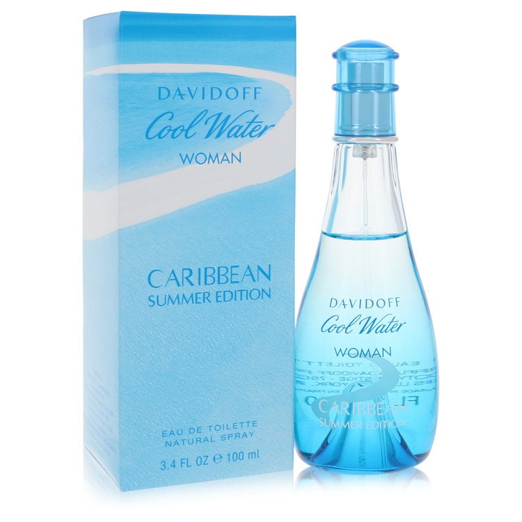 Cool Water Caribbean Summer Perfume 3.4 oz EDT Spay for Women