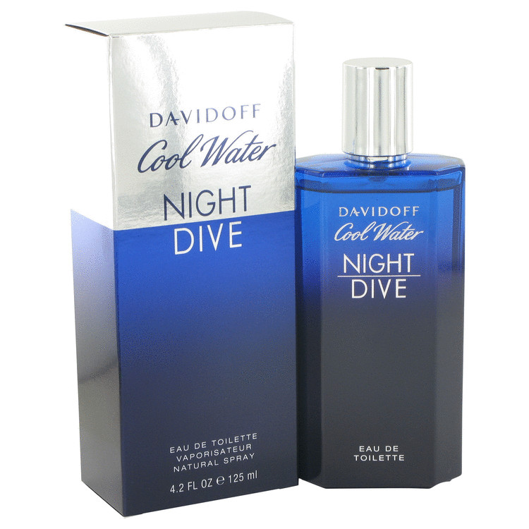 Cool Water Night Dive by Davidoff for Men Eau De Toilette Spray 4.2 oz