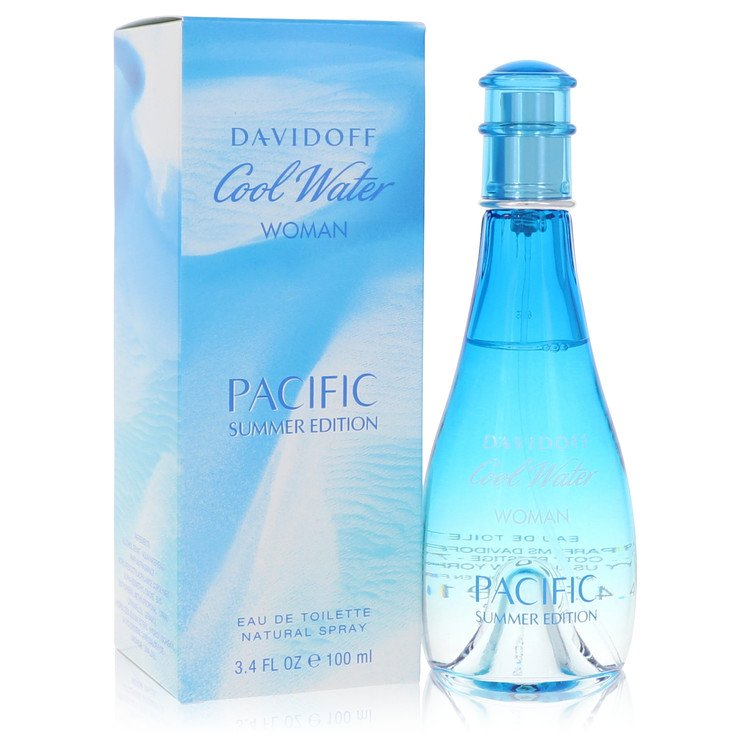 Cool Water Pacific Summer Perfume 3.4 oz EDT Spay for Women