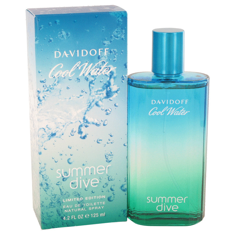 Cool Water Summer Dive Cologne by Davidoff 4.2 oz EDT Spay for Men