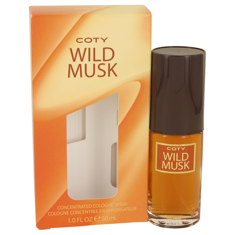 Wild Musk Perfume by Coty 30 ml Concentrate Cologne Spray