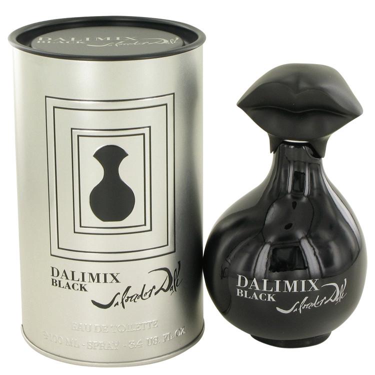 Dalimix Black by Salvador Dali for Women Eau De Toilette Spray 3.4 oz