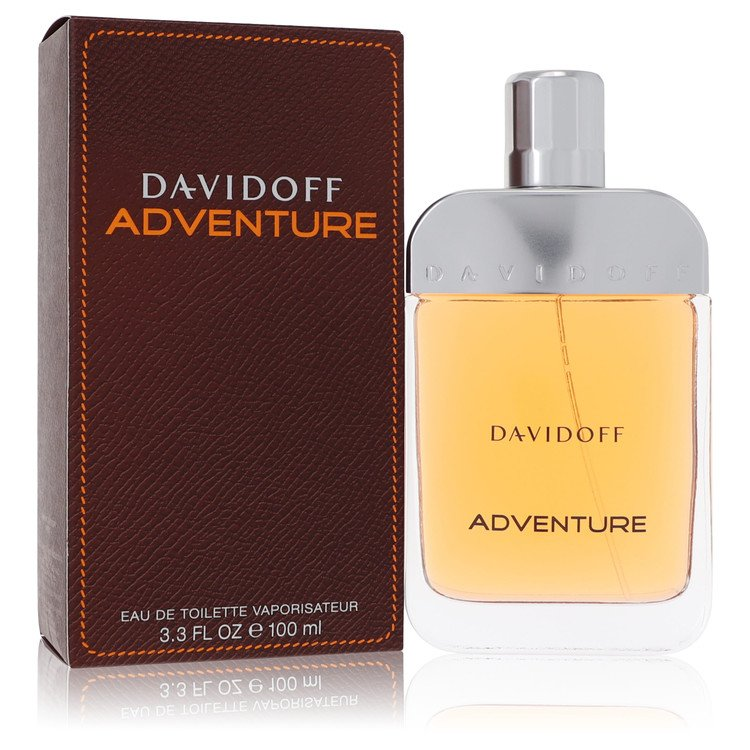 Davidoff Adventure by Davidoff for Men Eau De Toilette Spray 3.4 oz