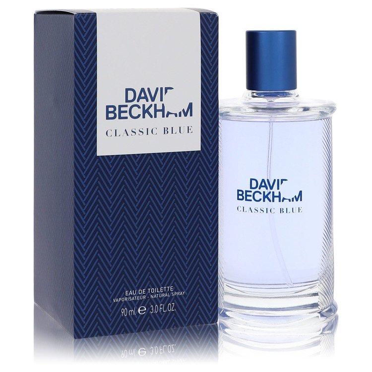David Beckham Classic Blue by David Beckham for Men Eau De Toilette Spray 3 oz