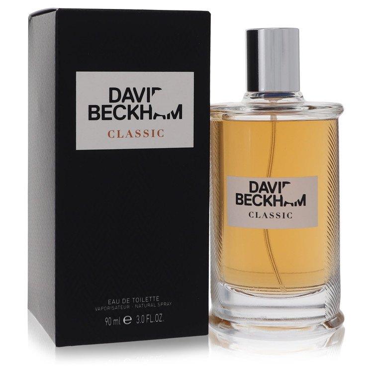 David Beckham Classic by David Beckham for Men Eau De Toilette Spray 3 oz