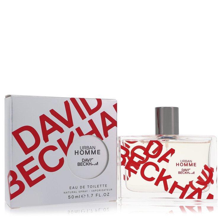 David Beckham Urban Homme by David Beckham –  Eau De Toilette Spray 1.7 oz 50 ml for Men