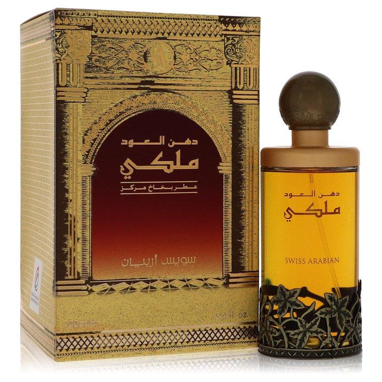 Dehn El Oud Malaki by Swiss Arabian Men's Eau De Parfum Spray 3.4 oz