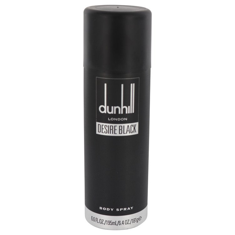 Desire Black London by Alfred Dunhill for Men Body Spray 6.4 oz