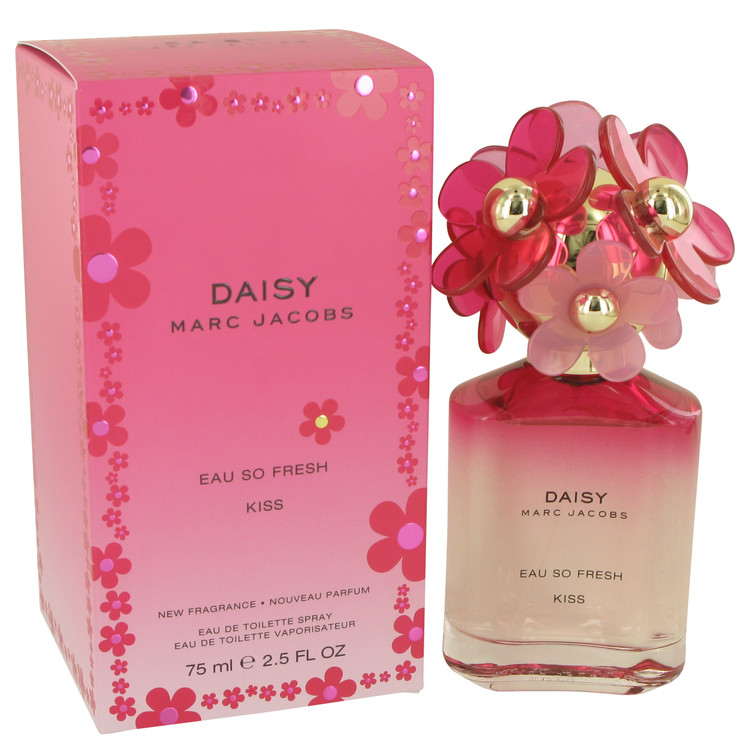 Daisy Eau So Fresh Kiss by Marc Jacobs for Women Eau De Toilette Spray 2.5 oz