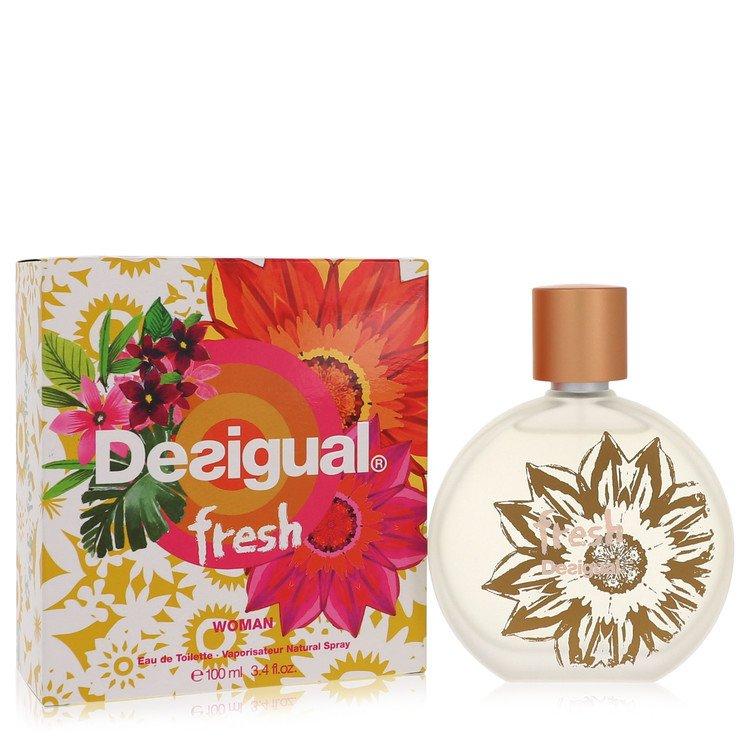 Desigual Fresh by Desigual for Women Eau De Toilette Spray 3.4 oz