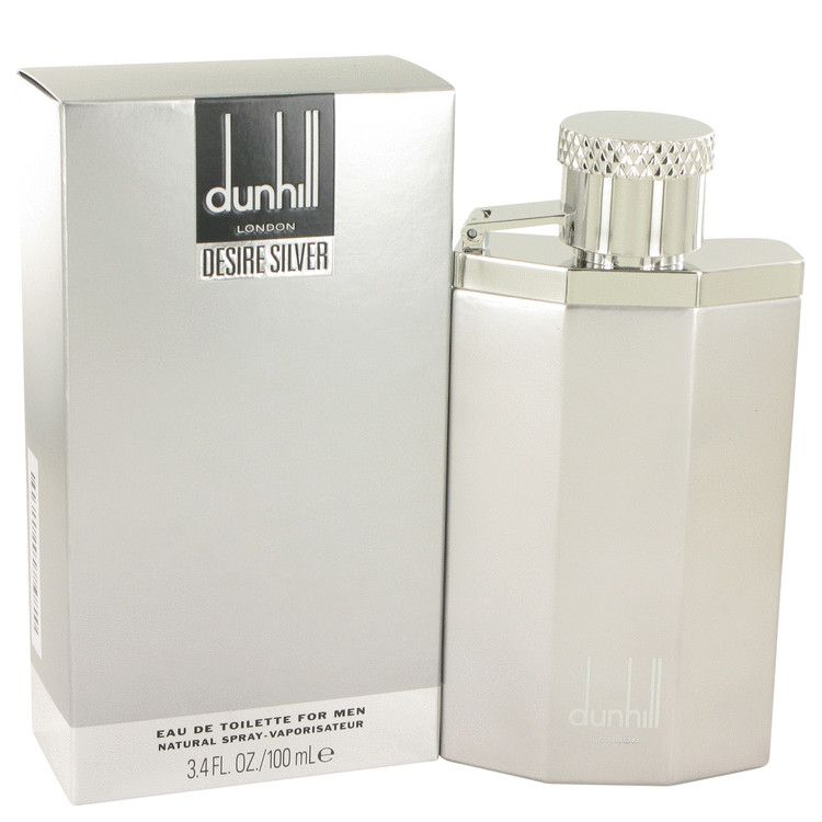Desire Silver London Cologne by Alfred Dunhill 3.4 oz EDT Spay for Men