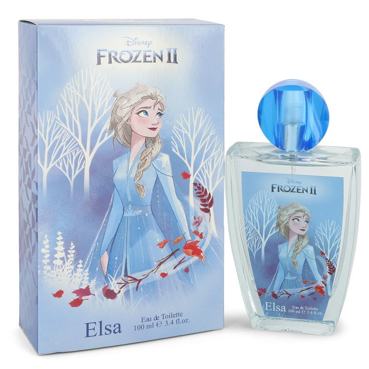 Disney Frozen Ii Elsa by Disney Women's Eau De Toilette Spray 3.4 oz