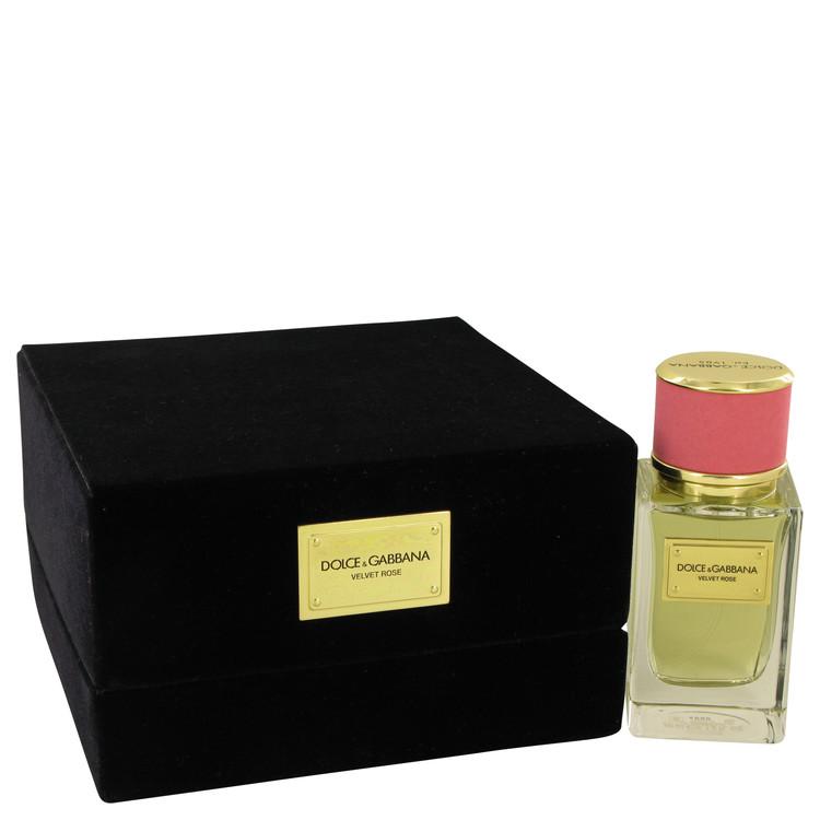 Dolce & Gabbana Velvet Rose Perfume 1.6 oz EDP Spay for Women Spray