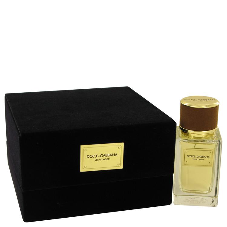 Dolce & Gabbana Velvet Wood by Dolce & Gabbana for Men Eau De Parfum Spray 1.6 oz