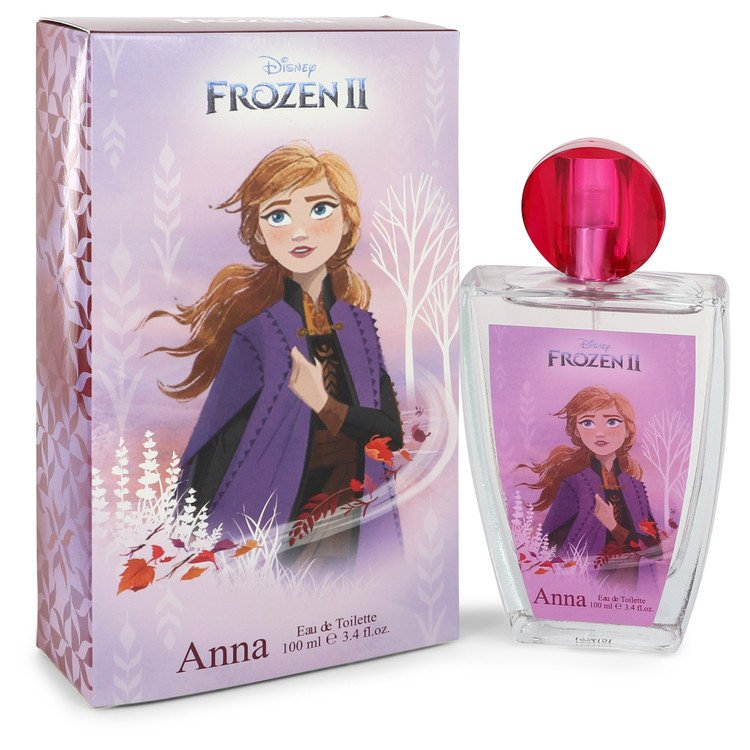 Disney Frozen II Anna by Disney Eau De Toilette Spray 3.4 oz for Women