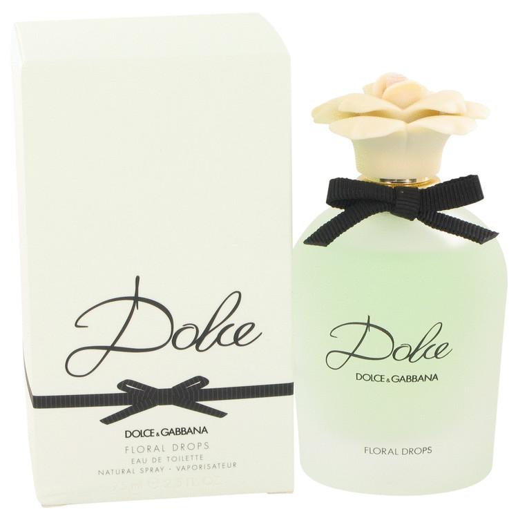 Dolce Floral Drops by Dolce & Gabbana for Women Eau De Toilette Spray 2.5 oz