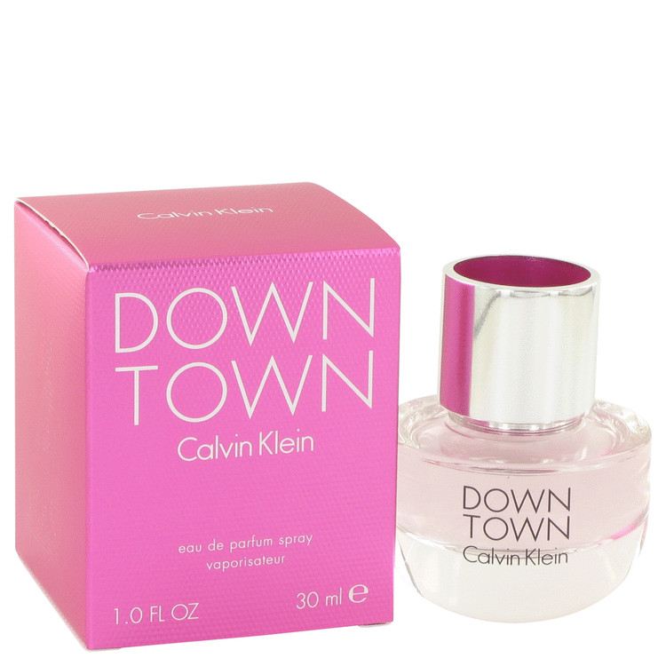 Downtown by Calvin Klein Eau De Parfum Spray 1 oz